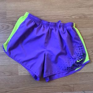 Purple Nike Shorts!